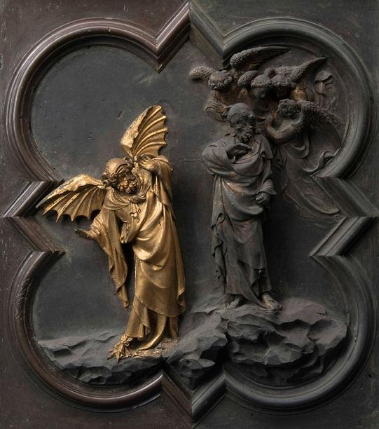 2-porta-nord-del-battistero-particolare-della-tentazione-di-cristo-durante-il-restauro-courtesy-opera-di-santa-maria-del-fiore-foto-antonio-quattrone